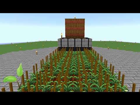Minecraft Mods Regrowth - AUTOMATED FARMING [E29] (Modded HQM)