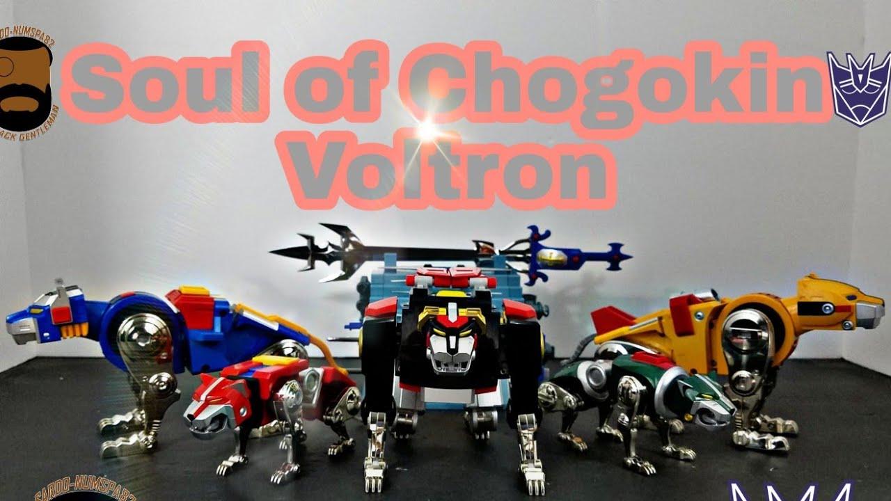 Soul of Chogokin Voltron Review by Sardo-numspa82