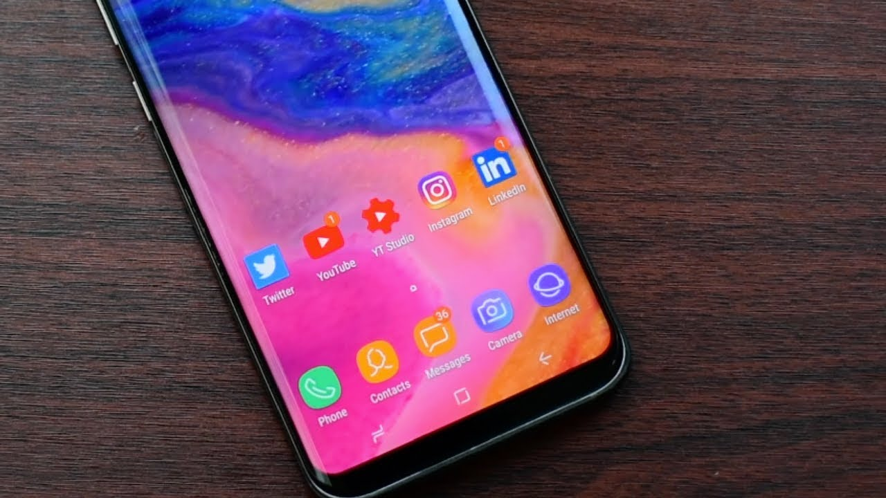 Get Iphone X Fluid Wallpapers For Samsung Galaxy S8 S8