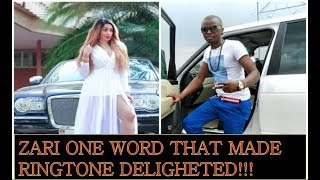 Ringtone Very HAPPY After Zari Hassan Said This !!!!