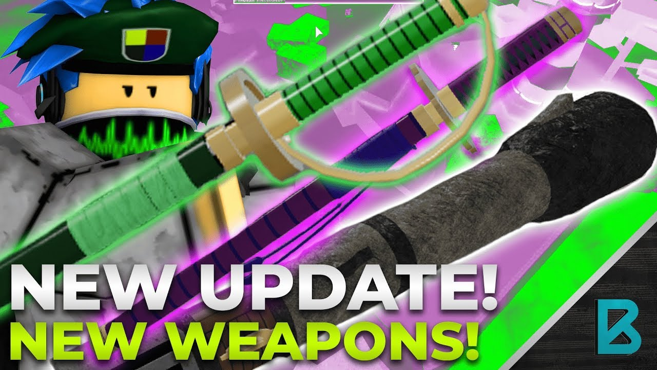 THE WEAPON UPDATE! 8 NEW WEAPONS! OPE NERFED?! | RO-PIECE | ROBLOX