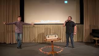 Pokaz naukowy | Paweł Jaskólski & Tomasz Ruszkowski | TEDxMarszalkowskaED