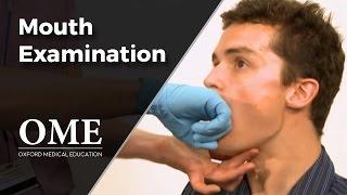 Mouth Examination - ENT