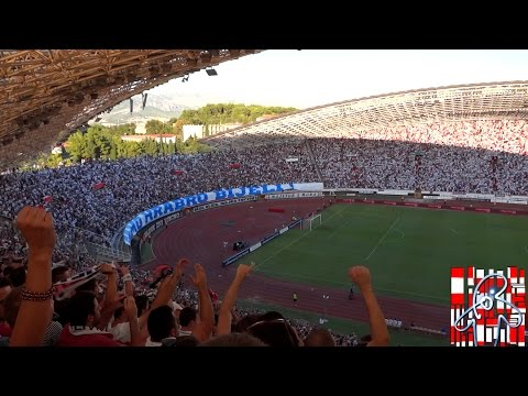Hajduk - Dnipro 28.8.2014.  Dalmacijo!!! HD