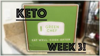 Another Keto Green Chef Box....(week 3)