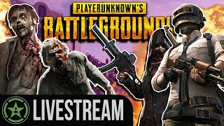 Achievement Hunter vs. The Fans - PUBG Zombies | Live Gameplay