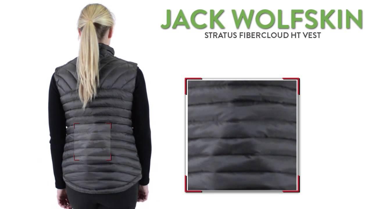 7c698c85f3e Jack Wolfskin Stratus FIBERCLOUD HT Vest - 500 Fill Power (For Women ...
