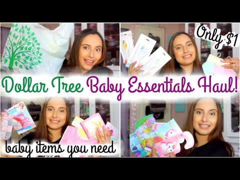 NEW DOLLAR TREE BABY ESSENTIALS HAUL 2020 | NEWBORN BABY PRODUCTS YOU NEED! | BABY SHOWER GIFT IDEAS