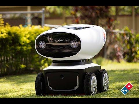Domino's Australia's Pizza Delivery Robot is the Future of Pizza Delivery