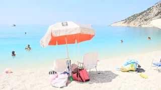 Пляж Миртос на о.Кефалония Греция(Myrtos beach Kefalonia., 2015-10-27T21:37:37.000Z)