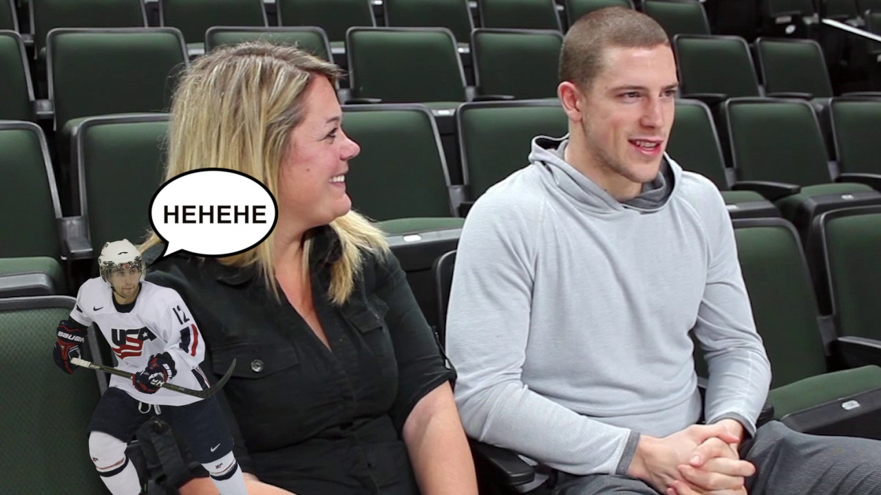 Sitting For 2 With Charlie Coyle Of The Minnesota Wild Youtube