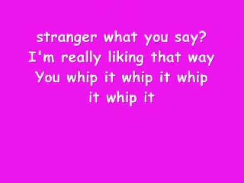 Nicki minaj whip it lyrics