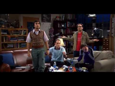 Big Bang Theory meets Harlem Shake [Original Version]