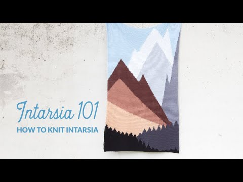 Intarsia 101: How to knit intarsia | Hands Occupied