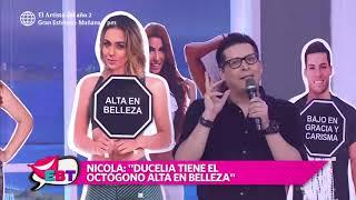 Nicola Porcella sorprendió con tremendo comentario sobre Ducelia Echevarría
