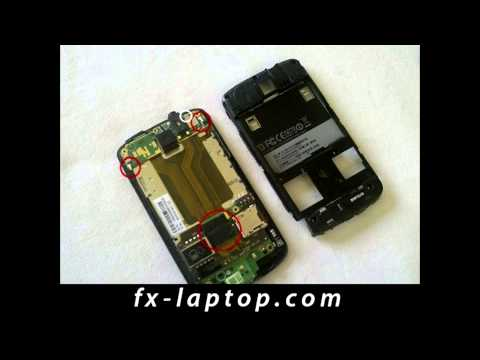 Disassembly HTC Touch HD - Battery Glass Screen Replacement