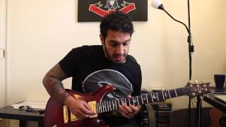 How to play 'Ghost Walking' by Lamb Of God Guitar Solo Lesson w/tabs