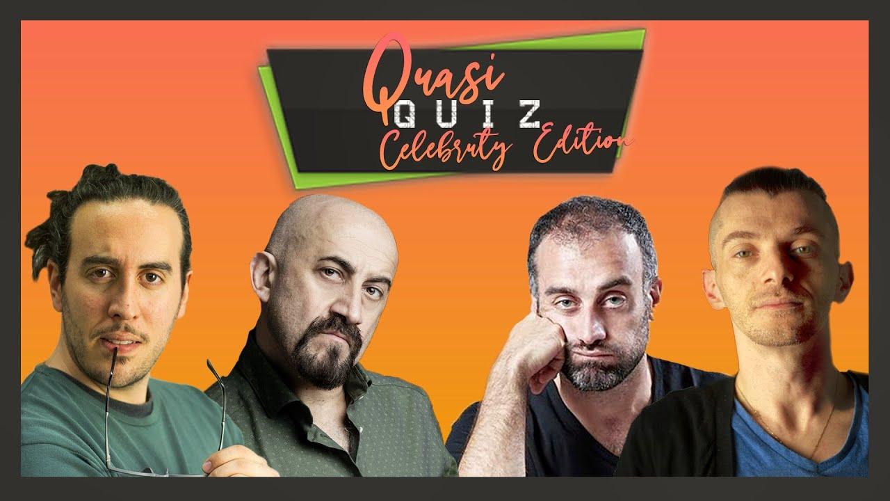 """@DANIELE FABBRI VS @Gianluca Iacono al Quasi Quiz Celebrity - """"Quasi Quiz""""⎟ Slim Dogs LIVE"""