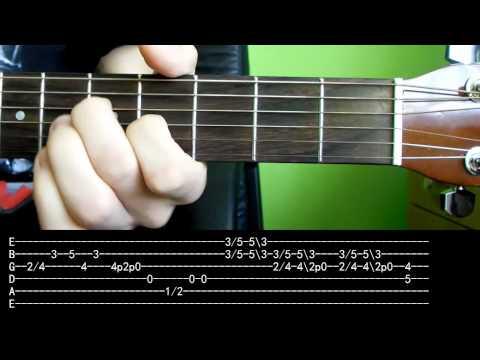 Jak zagrać - Pink Floyd - Wish You Were Here - Kompletna Lekcja HD