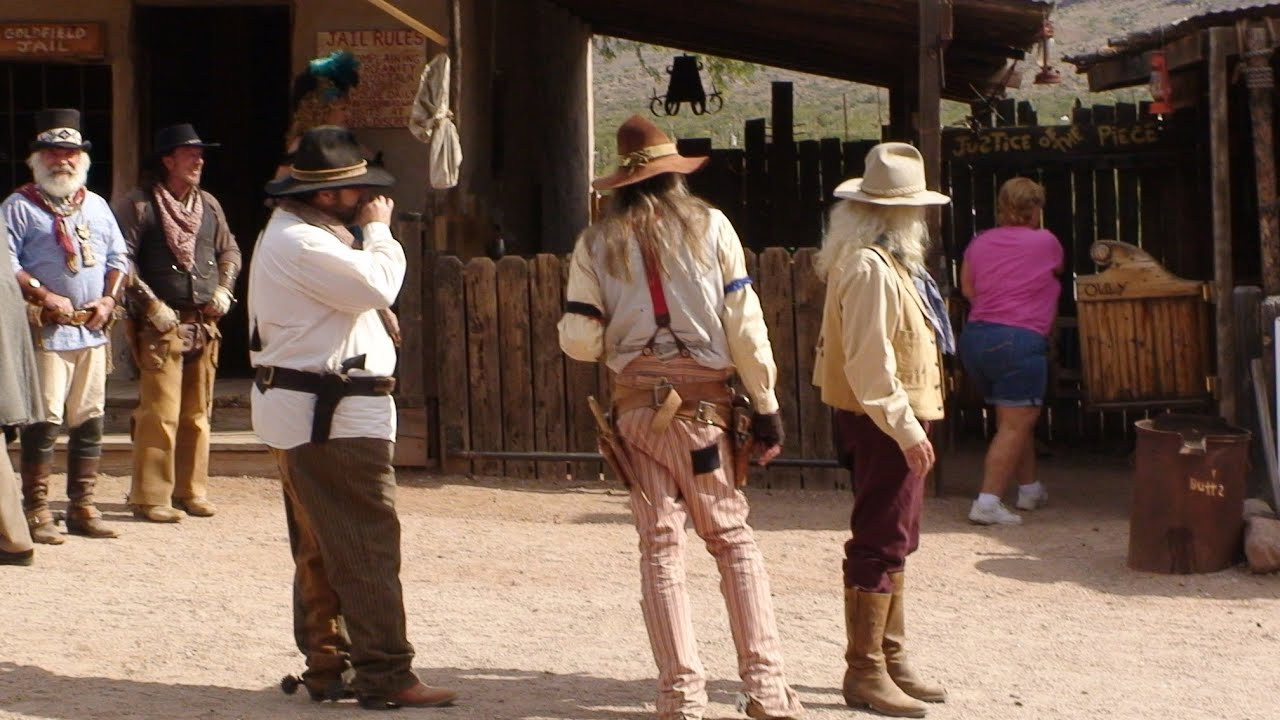 """Download """"Gun Fight at High Noon"""" Goldfield Ghost Town, Apache Junction, ARIZONA"""