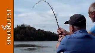 Sturgeon fishing British Columbia