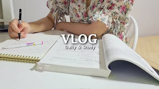 vlog | 자소서 쓰고 공부하는 취준생 일상 브이로그