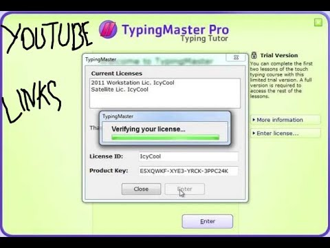 typingmaster pro 7.10 license id and product key free download