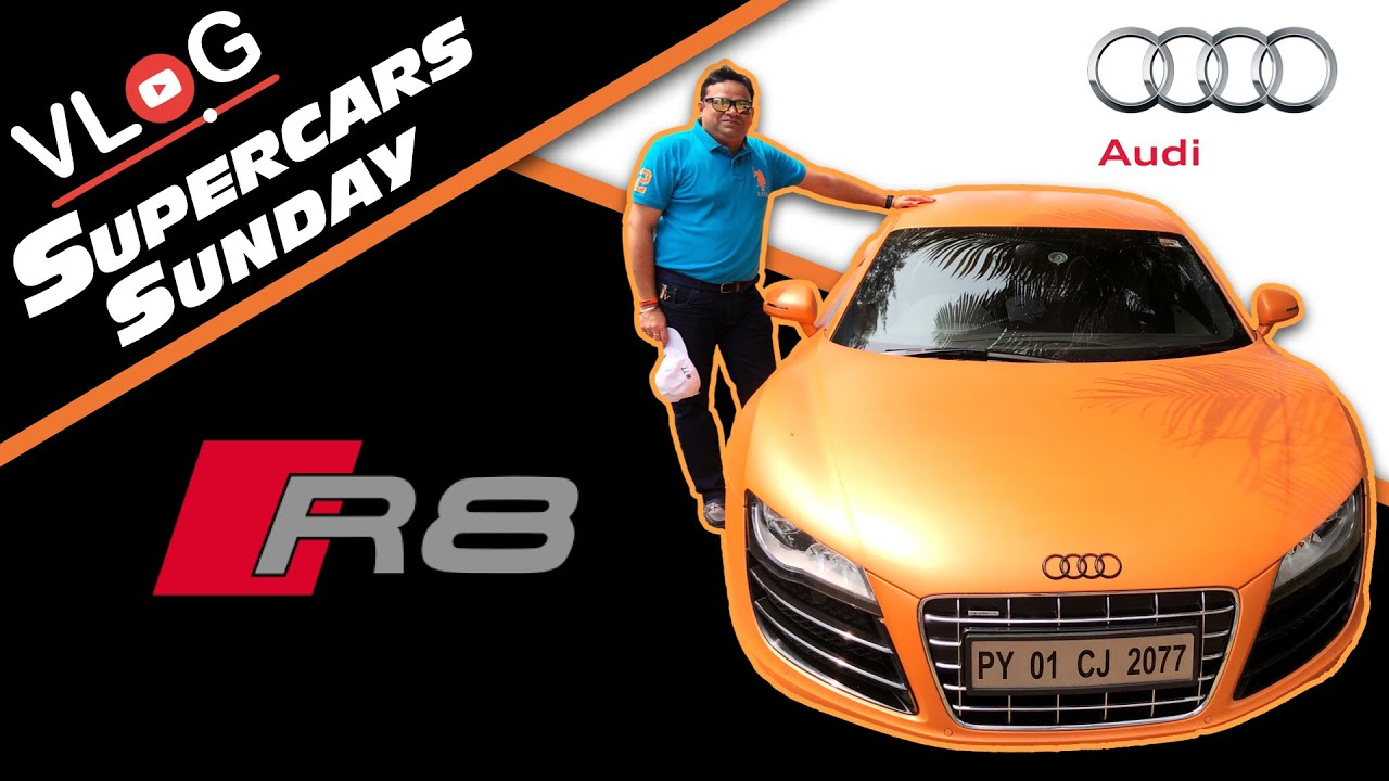 Audi R8 drive experience with Professional Rally Driver | Supercars Sunday | #Audi R8
