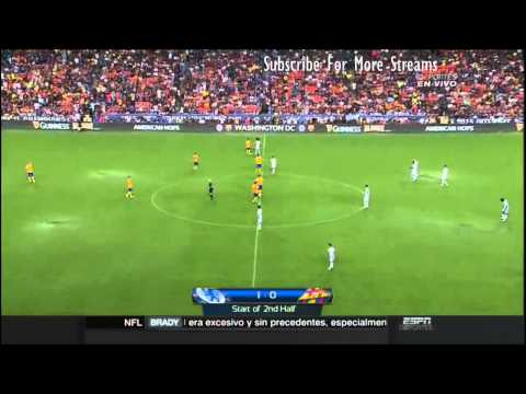 Chelsea vs Barcelona Full Match - Friendly Match 2015 HD