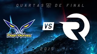 [Mundial 2015] Flash Wolves x Origen - Jogo 1 (Quartas de final)