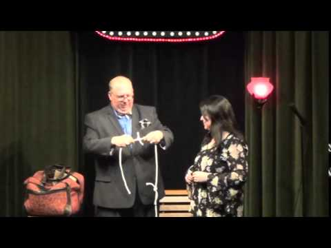 Magic Rope Routine at Flapper's Comedy Club