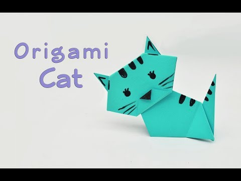How to make a paper Cat?