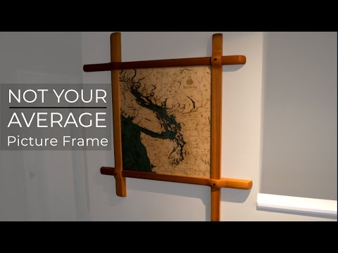 Woodworking: Not Your AVERAGE Picture Frame