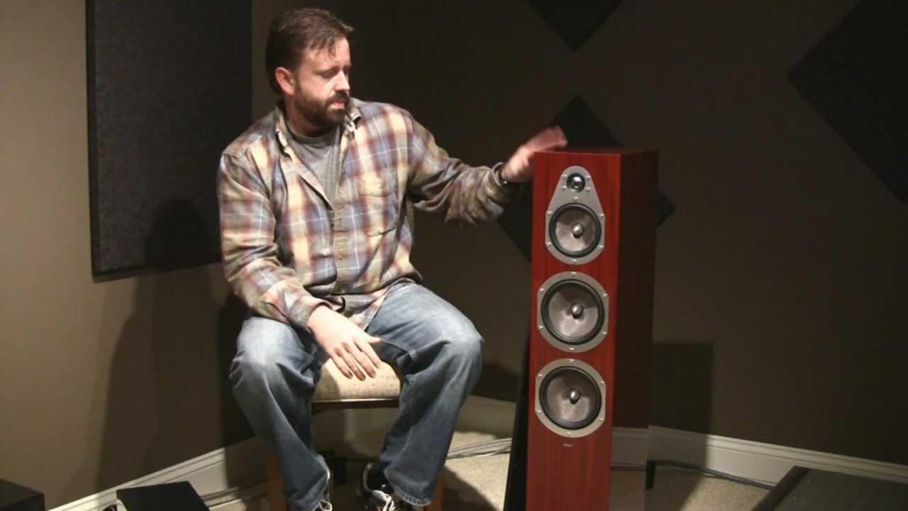 Energy Veritas Speaker Review - YouTube