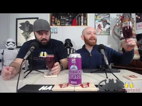 Nerdsense Drinks Reviews - #358 450 North Slushy Blackberry Jam