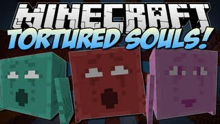 Minecraft | TORTURED SOULS! (Plus Awesome Throwing Weapons!) | Mod Showcase [1.6.2]