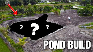 FINISHING My BIGGEST BACKYARD POND!!!
