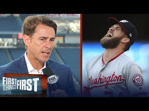 Tom Verducci on Mike Trout, Bryce Harper's slump, World Series favorite | MLB | FIRST THINGS FIRST