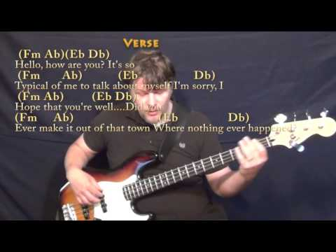 Piano piano chords adele hello : Hello (Adele) Bass Guitar Cover Lesson in Fm with Chords/Lyrics ...