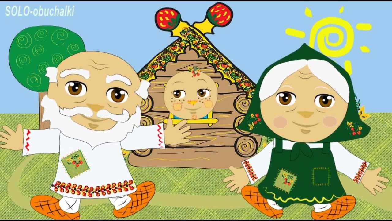 картинки по сказке колобок для детей