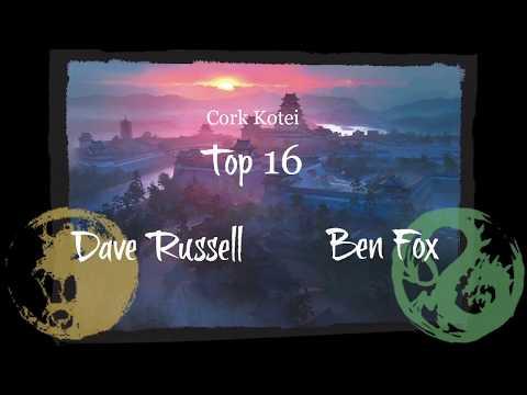 Irish Kotei 2018 Top 16: Dave Russell (lion) v Ben Fox (dragon)