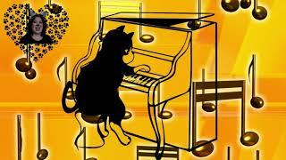 Karikatür kapak talep ve kediler Üzerinde & de! | şarkı sözleri CC
