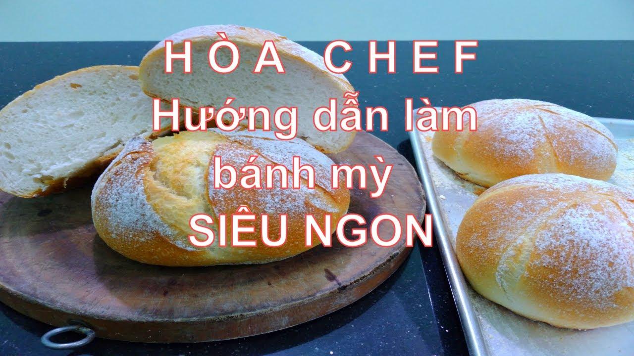 Hướng dẫn cách làm bánh mỳ tròn to (Whole Bread) – Hòa Chef