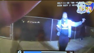 EXPLICIT LANGUAGE: Police Release Body Cam Video In Officer Shooting