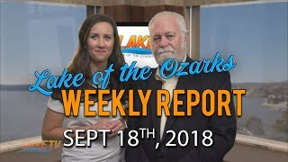 Lake of the Ozarks Weekly Report | Sept 18, 2018