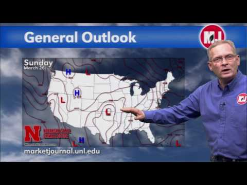 March 24, 2017 Weekly Weather Forecast