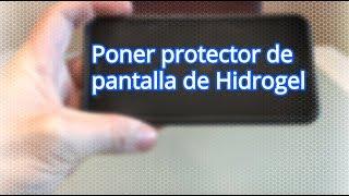 Colocación protector de pantalla de Hidrogel (2019)