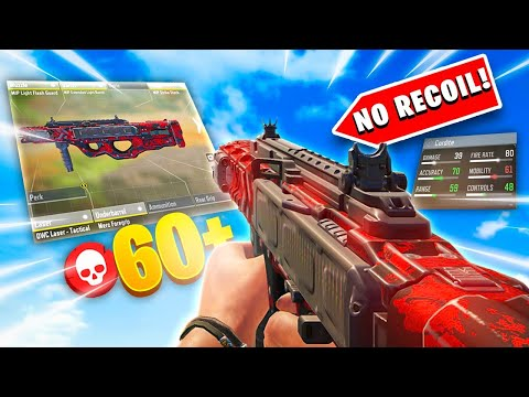 This Cordite Gunsmith SETUP is INSANE (No Recoil) 60+ Kills | Cod Mobile