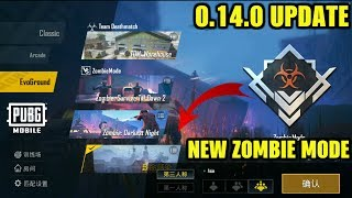 PUBG MOBILE NEW UPDATE 0.14.0 : NEW ZOMBIE MODE, COMPANIONS, HELICOPTERS & MORE!