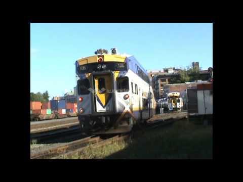 West Coast Express trains around Vancouver